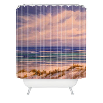 Rosie Brown Seascape 1 Shower Curtain
