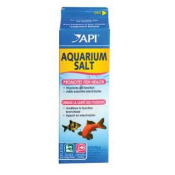 Aquarium Salt 33 oz. 1 Quart Milk Carton