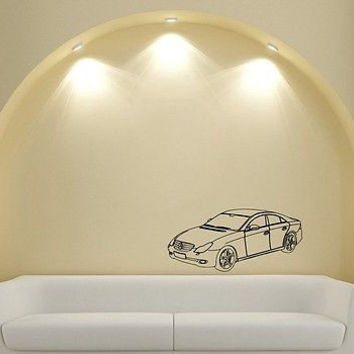 Wall Mural Vinyl Sticker Decal sticker for boys machine vip mercedes DA1918