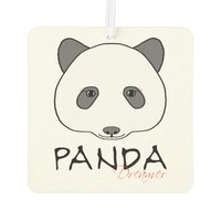 Panda Dreamer Car Air Freshener