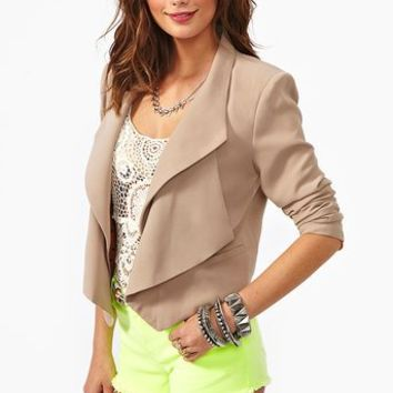 On The Edge Blazer  in  Clothes at Nasty Gal