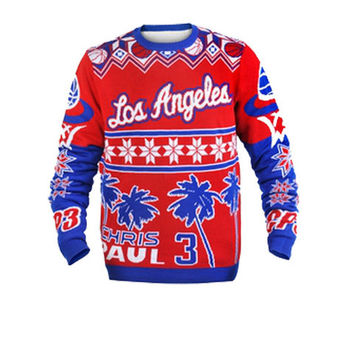 Los Angeles Clippers Chris Paul Official NBA Ugly Sweater