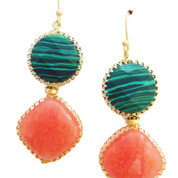 Watermelon Sorbet Earrings