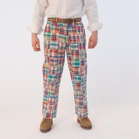 Harbor Pants in Columbus Patch Madras by Castaway Clothing