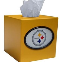 Pittsburgh Steelers Tissue Box Cover