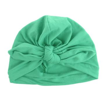 Hot Sale Baby Toddler Kids Boy Girl Bowknot Hat Lovely Soft Cloth Beanie Caps for Kid Boys Girls Casual Comfortable Hats