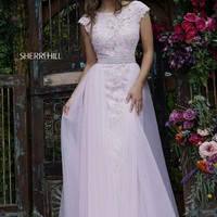 Sherri Hill 11288 Beaded Lace Gown