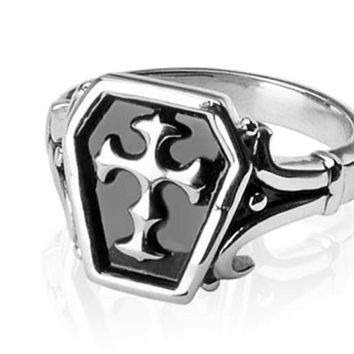 Celtic Cross 316L Surgical Stainless Steel Ring