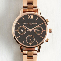 Menswear Inspired Ahead of Its Shine Watch by Olivia Burton from ModCloth
