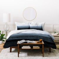 Monika Strigel WITHIN THE TIDES STORMY WEATHER GREY Duvet Cover