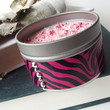 Soy Candle - Bubble Gum scented Soy Candle Tin -- 6 ounce Tin