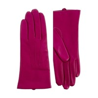 Dents Classic Smooth Grain 3 Point Gloves - Pink