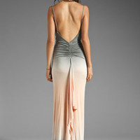 Young, Fabulous & Broke Lavinia Maxi Dress in Grey Double Ombre from REVOLVEclothing.com