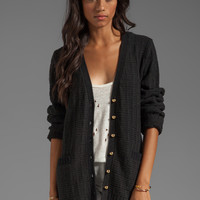 Lovers + Friends Be Better Cardigan in Black from REVOLVEclothing.com