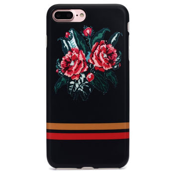 Retro Flower Case for iPhone 6 6s Plus & iPhone 7 Plus +Gift Box