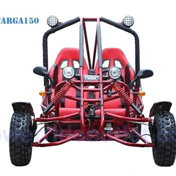PRO TT Targa 150cc Go Kart ( Fully Automatic , Honda CRF Series Clone 4 Stroke Engine, Adjustable Racing Seat with 4 Point Harness Belt)
