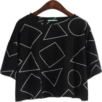 SHAPES SUMMER CROP TOP