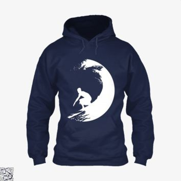 Catch A Wave, Surfing Hoodie