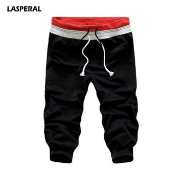 LASPERAL 2017 Fitness Men Sports Shorts Athleisure Short Pants Gym Running Basketball Jogger Shorts Plus Size S-XXXL Sportswear