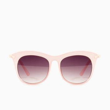 ShopSosie Style : Gaze Out Sunglasses in Pink