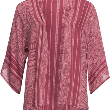 O'neill Claire Girls Kimono Red One Size For Women 26595830001