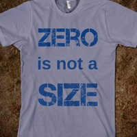 ZERO is not a SIZE