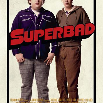 Superbad 27x40 Movie Poster (2007)