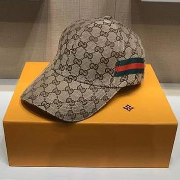 Gucci Embroidered Baseball Cap Hat-5