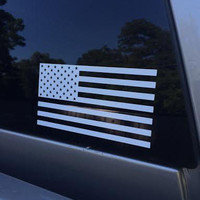 American Flag USA Vinyl Die Cut Decal/Sticker