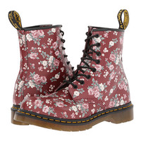 Dr Martens 1460 W Cherry Red Vintage From Zappos Com