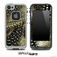 Peacock Feathers V5 Skin for the iPhone 5 or 4/4s LifeProof Case