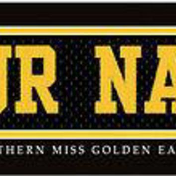 College-NCAA Jersey Stitch Print Southern Miss Golden Eagles  Gift it!
