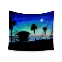 "Theresa Giolzetti ""Carlsbad State Beach"" Wall Tapestry"