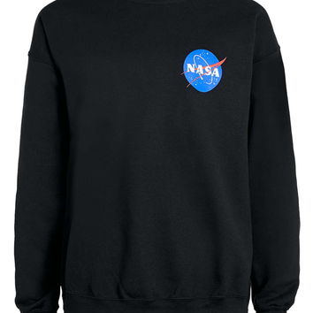 Black NASA Sweatshirt - Topman