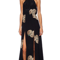 STONE_COLD_FOX x REVOLVE Onyx Gown in Black