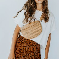 Quilted Fanny Bag