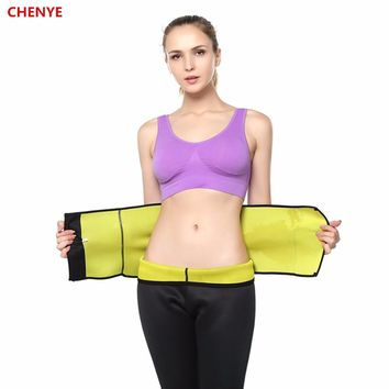 Hot Shapers Waist-Trimmer Slimming Belt Hot Abs Women Men Compression Adjustable Body Shaper Waist Belt Neoprene Slimming Corset