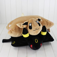 40*33cm  Eevee Umbreon Espeon Plush Toys Soft Stuffed Pillow Doll Brithday Gift For Girl friend