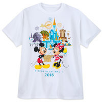 Minnie and Mickey Mouse T-Shirt for Adults - Walt Disney World 2018