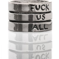 F US ALL RING - ALL ACCESSORIES