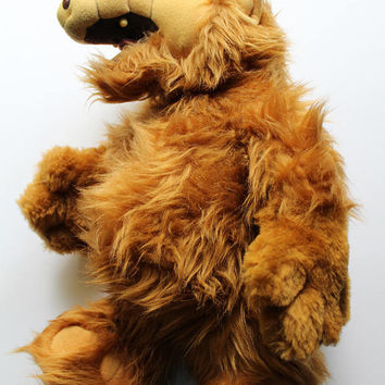 Vintage Alf 18 Inch Stuffed Animal Plush 1986