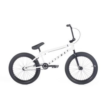 GATEWAY C WHITE FRAME COMPLETE BMX BIKE 2019