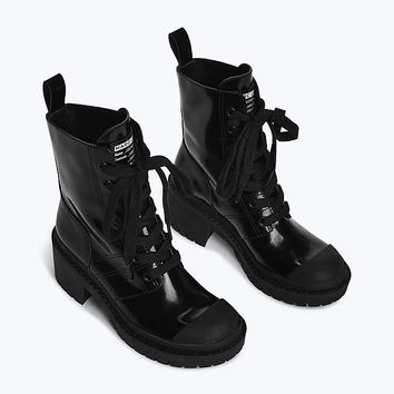 Bristol Canvas Lace Up Boot | Marc Jacobs | Official Site