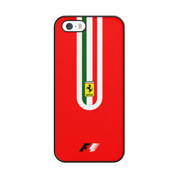 Fernando Alonso F1 Ferrari Scuderia Team iPhone 5|5S Case