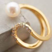 Pearl Eclipse Ring by Gold Philosophy Pearl