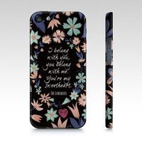 Lumineers iPhone & Galaxy Case  Colorful Word by EverMorePrints
