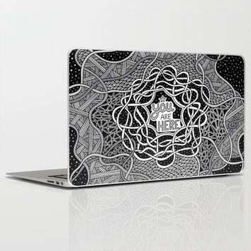 You Are Here Laptop & iPad Skin by Alliedrawsthings   Society6