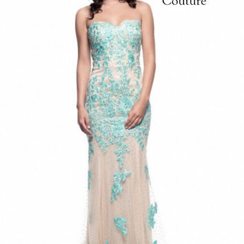 Best Aqua Prom Dress Products On Wanelo