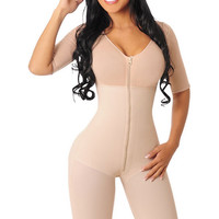 Shapewear With Sleeves 526