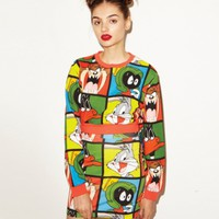 Lazy Oaf | Lazy Oaf x Looney Tunes Looney Gang Mini Skirt